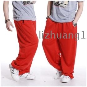 Man leisure loose type who baggy pants pants pants street dance hip-hop style of men's clothing dancing pants
