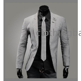 Hottest Style Men's cotton blending blazer single-breasted suits 1X11
