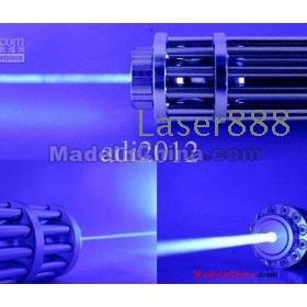 3000mw/3w 450nm Adjustable light blue laser flashlight burn match/carton/wood/pop balloon+free shipping