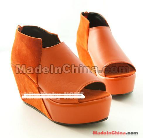 Fashion fish zuisong platform shoes thick bottom for Platform shoes with fish