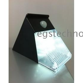 Solar Motion Sensor PIR Wall Mount Garden Light ,+12 LED White blubs,solar light solar lawn lights, garden lights