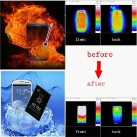 NEW Cell Phone Heat Sink Magical  Pad Graphite/Graphene