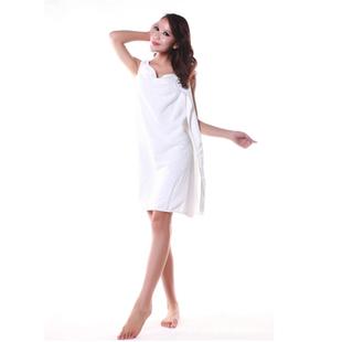 Can wear bath towel adult superfine fiber bath wholesale for Bathroom wear
