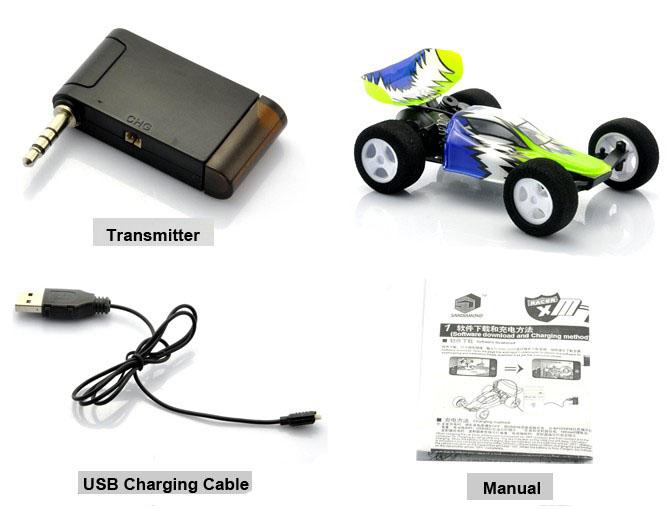 lazer stunt chaser instruction manual
