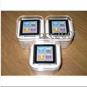 Ex-factory price sales promotion wholesale 6th MP4 Player 8G mp3 player clip ebook photo RM radio record movie 1.5inch music player Hot selling #n-56136