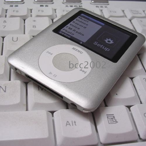 "sales promotion wholesale New Hot sell 2GB 4GB 8GB 1.8"" LCD 4th MP3 MP4 Player FM #FB6853"