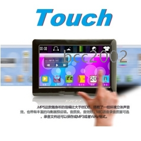 """4. 3"""" screen MP4 Player T13 FM Radio TV OUT 8GB MP5 Player Free shipping!#wy99833"""
