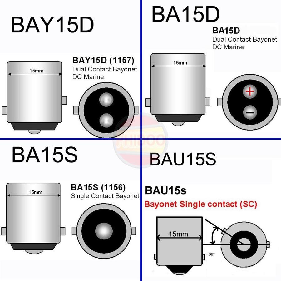 DHL-100pcs-S25-1156-BA15S-BAU15S-24SMD-5