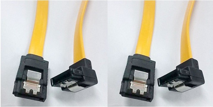 Types Of Sata Cables : A bend straight cm sata data cable serial wholesale