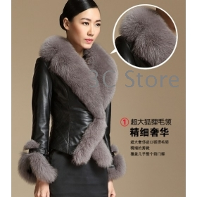 Collection Leather Fur Jacket Pictures - Fashion Trends and Models