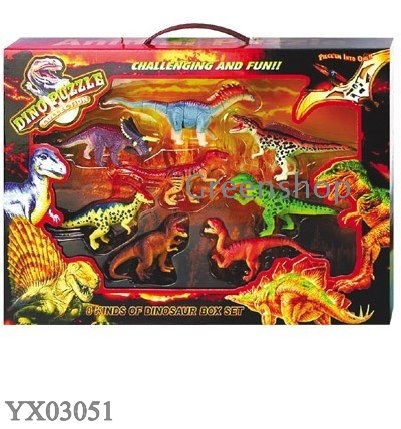 Dino puzzles collection 3D animal puzzles Dinosaur DIY toys assembling ...