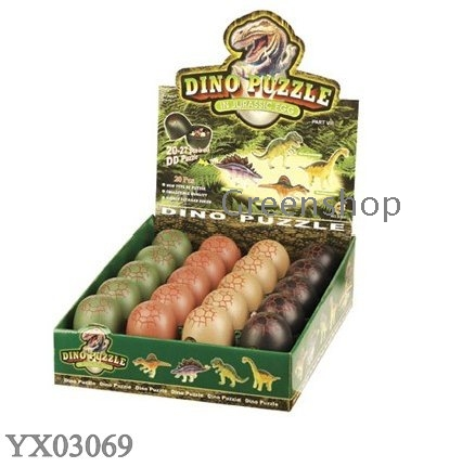 3D Dinosaurs puzzles DIY toys dino Dinosaurs collection animal puzzle ...