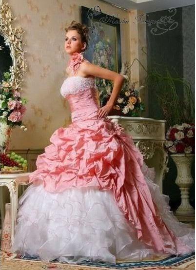 Pink White Wedding Dresses Wholesale Pink White Wedding Dresses On ShopMadeInChina