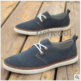 2013 autumn male casual shoes soft outsole shoes man suede shoes the trend of fashion shoes platform sneakers shoes