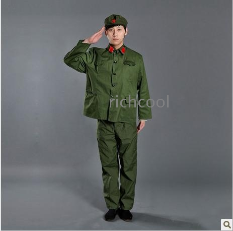 wedding dress red guard clothing cultural revolution clothing photos