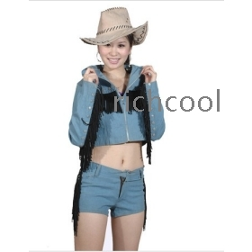 Modern cowboy outfit for women - photo#16