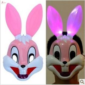 Buy This masquerade animal mask powder rabbit ears the small
