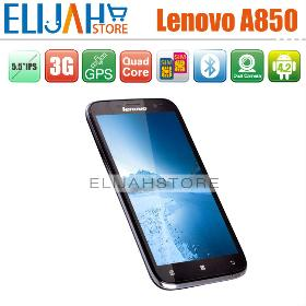 """Free Shipping Lenovo A850 MTK6582m Quad Core Android 4.2 Phone 1GB 5.5"""" IPS Languages Russian etc"""