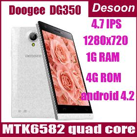 """New arrival DOOGEE PIXELS DG350 MTK6582 Quad Core 1.3GHz 1GB 4GB ROM Android 4.2 8MP Camera 4.7"""" IPS OGS /vicky"""