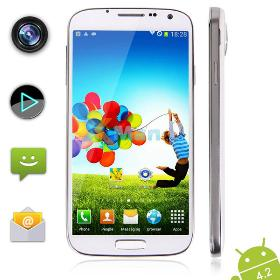 New 5.0 Inch IPS Android 4.2 MTK6589 Quad Core Phone 1GB 4G ROM 1.2GHz Dual Camera 5.0MP POMP W88a SmartPhone XZ