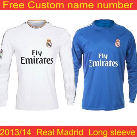 new york 97e16 fef8b Real madrid long sleeve 13 14 Ozil soccer jersey – Wholesale ...