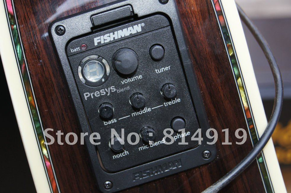 fishman presys blend 301 dual mode guitar preamp. Black Bedroom Furniture Sets. Home Design Ideas