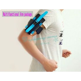 Multifunctional Arm package Arm Band Arm Sleeve Wrist Bag Waist Bags Outdoor Products Drop Shipping/Free Shipping Wholesale