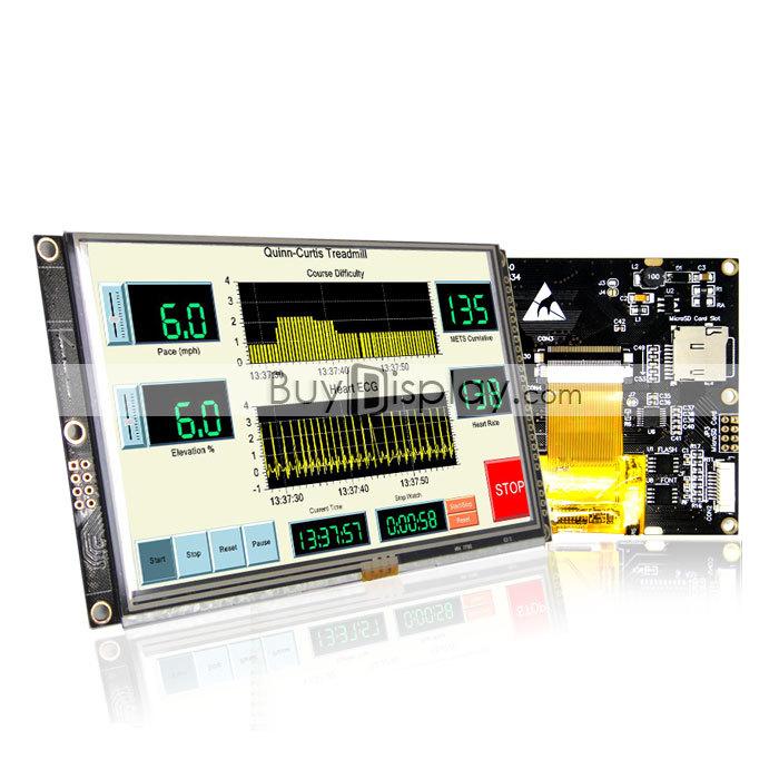 5 5 0 inch 800x480 TFT LCD Module Display w – Wholesale 5