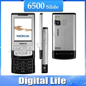 6500S 6500 Slide Cell Phones 3G Bluetooth Mp3 Player 3.15MP Phone