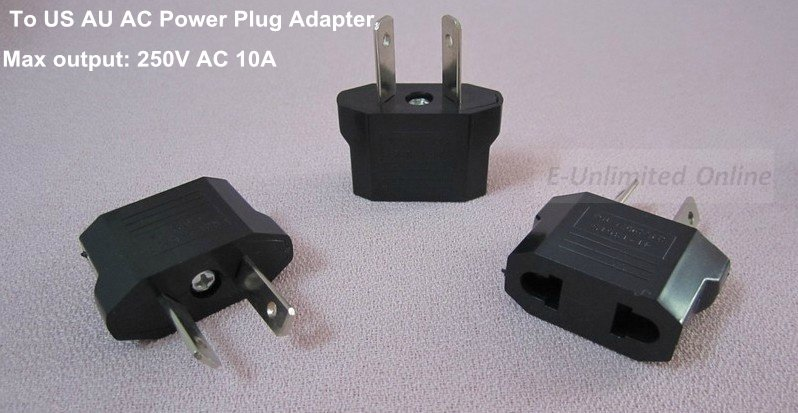 US Europe to Australia Zealand AC power adapter – Wholesale