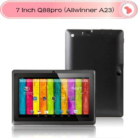 DHL Freeshipping 7 inch Q88 tablet pc Allwinner a23 dual core 1.5GHz Android 4.2 Capacitive Screen Dual Camera WIFI 512M/4G