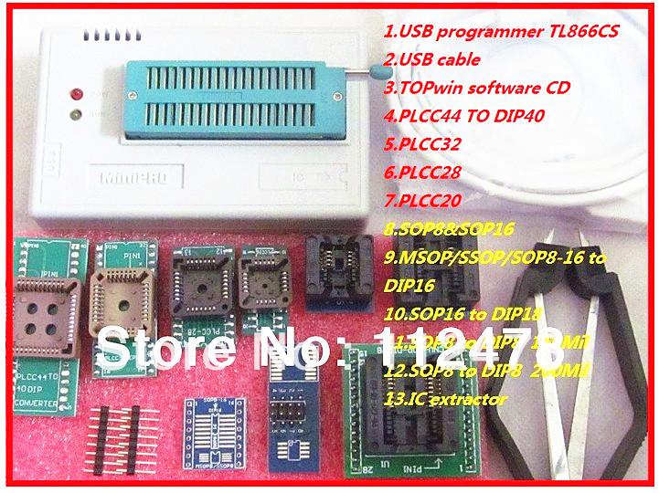 2014 Russian English Software V6 0 MiniPro TL866CS