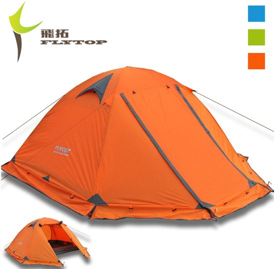 ... Good quality double layer 2 person 4 season aluminum rod outdoor winter c&ing tent Flytop Topwind  sc 1 st  Shopmadeinchina & Good double layer 2 person 4 season aluminum rod u2013 Wholesale Good ...
