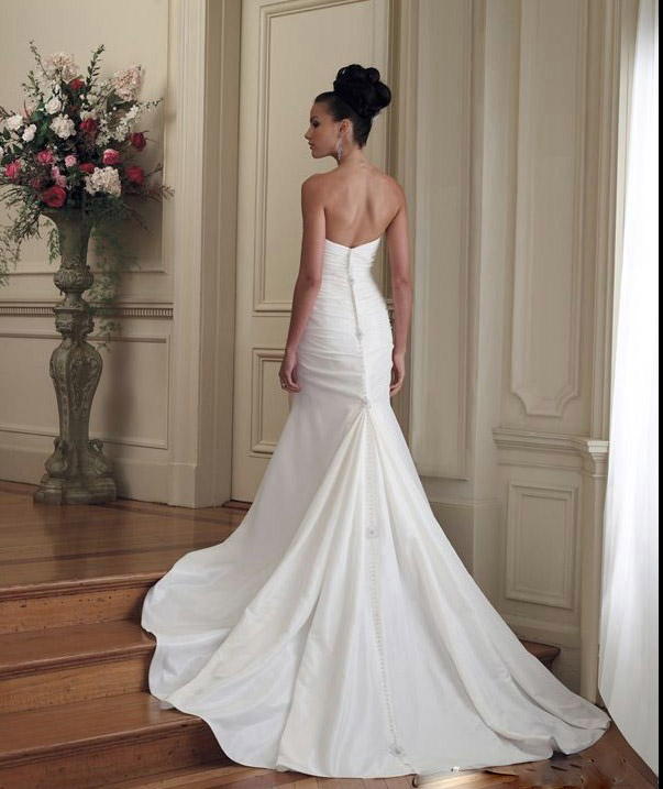 wedding dress gown custom size md wholesale charm wedding dress