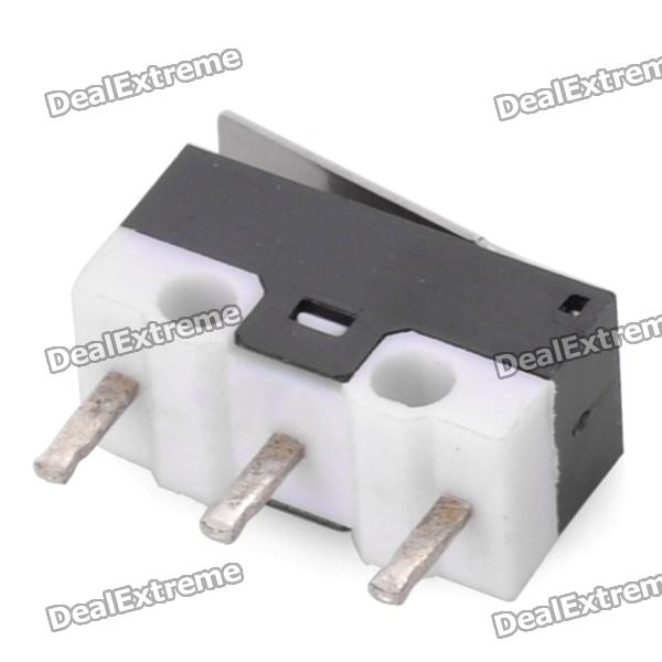 трехконтактный переключатель с подсветкой схема