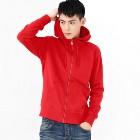 VANCL Vern Classic Plain Hoodie (Men) Red SKU:748536