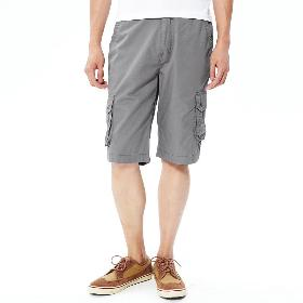 VANCL Ted Outdoor Cargo Pockets Shorts (Men) Gray SKU:205829