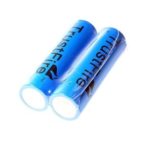 TrustFire TR 18650 2500mAh 3,7V elem (2-Pack). SKU: 6979