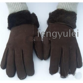 Made in china Men's sole sheepskin gloves glove,Mittens, high quality !! new  Shoes yunlailfafa