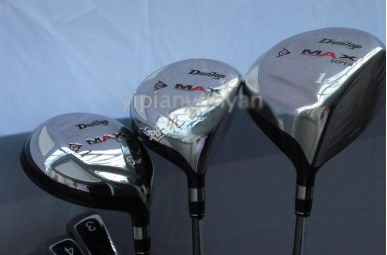 Dunlop Max Complete Sets Golf Club 3 Woods 9 Wholesale