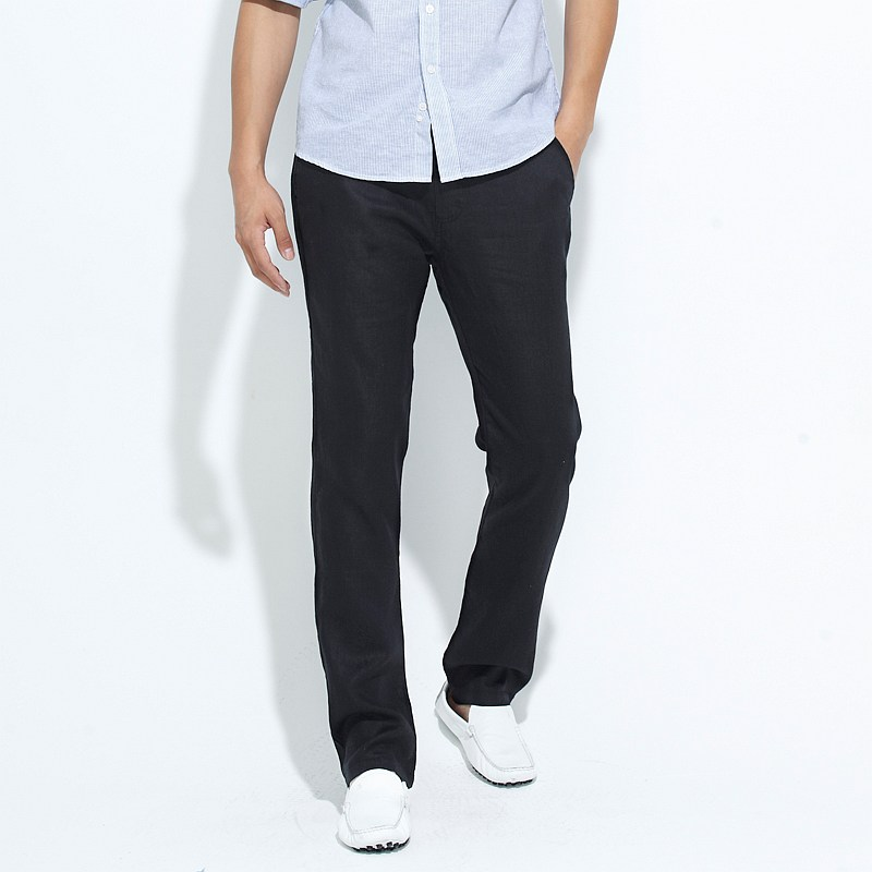 Black Chinos Outfit Linen Chinos Men Black