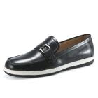 VANCL D-Ring Slip-in Leather Loafer Black SKU:160876
