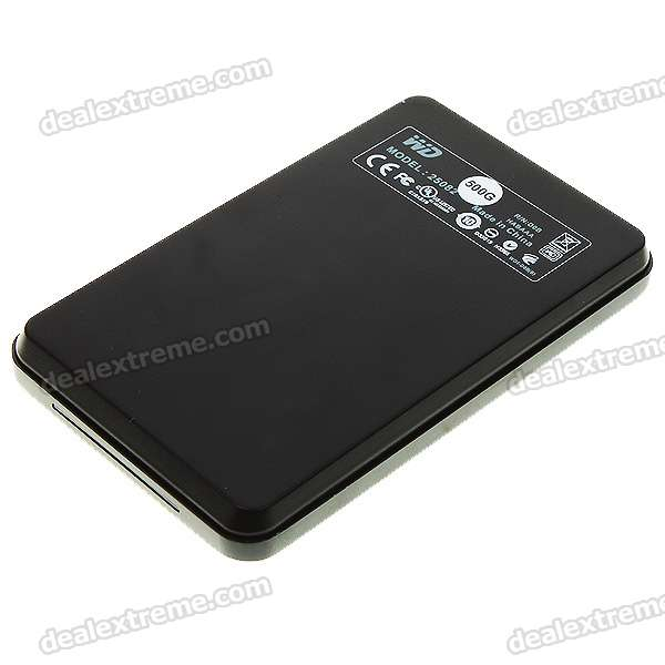 genuine wd 2 5 quot hard drive external usb 2 0 tml