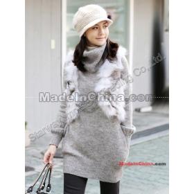 Új koreai stílus női szőrme mellény Fox szőrme mellény koreai Special Edition bunda - -D10