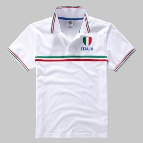 VANCL Europe Contrast Short Sleeve Polo (Men) White SKU:178636