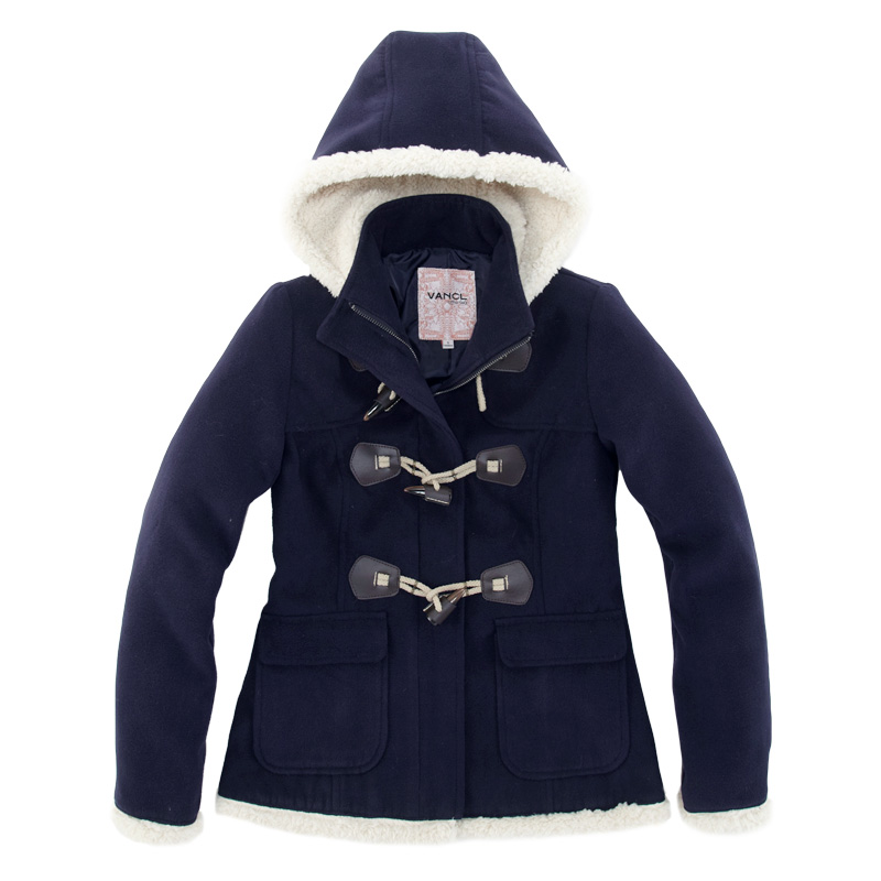 Navy Blue Duffle Coat