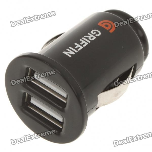 ... Adapter w/ USB Cable for /iPhone - Black (DC 12~16V) SKU:100645 on