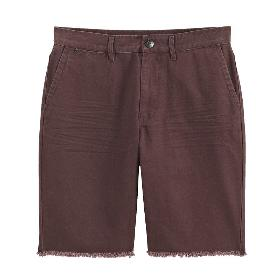 VANCL Glenn Solid Cotton Shorts (Men) Tummanpunainen SKU: 199706