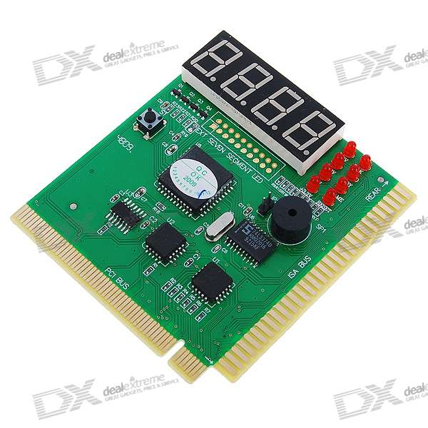 Computer Post: PC POST Diagnostic Test Card Motherboard Analyzer