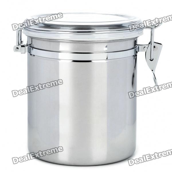 Airtight Stainless Steel Cabinet ~ Stainless steel airtight pot fresh food storage
